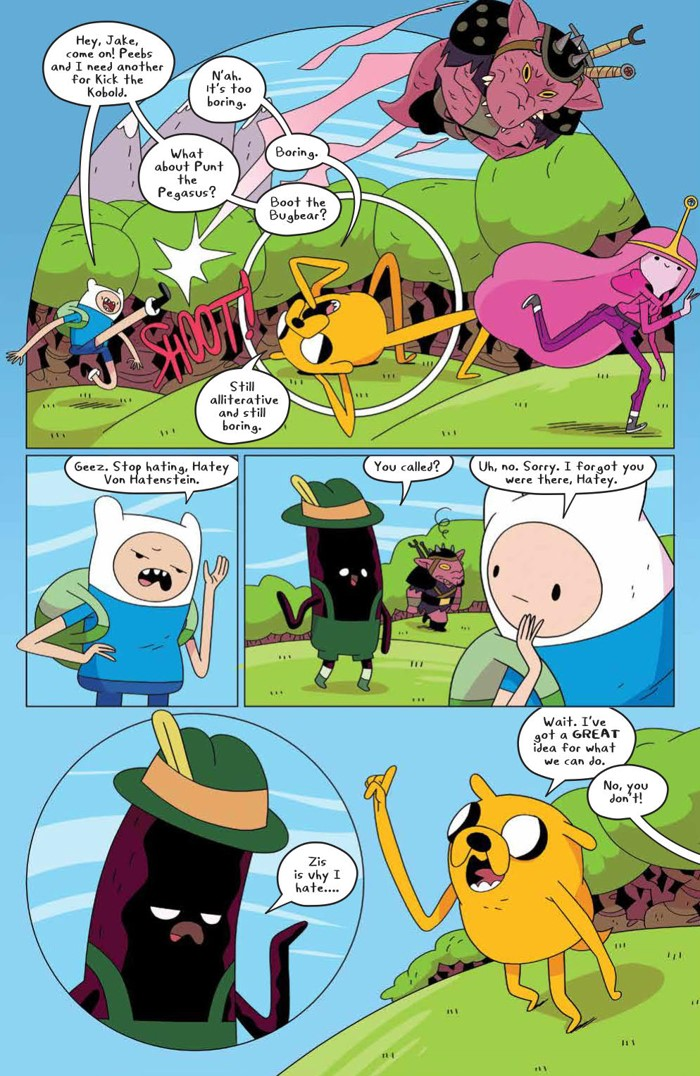 AdventureTime_074_PRESS_3 ComicList Previews: ADVENTURE TIME #74