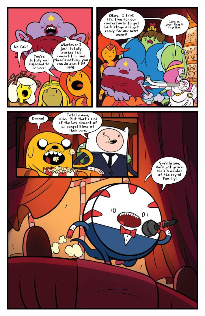 AdventureTime_v14_SC_PRESS_14 ComicList Previews: ADVENTURE TIME VOLUME 14 TP