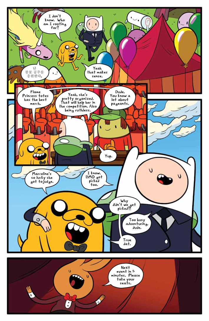 AdventureTime_v14_SC_PRESS_16 ComicList Previews: ADVENTURE TIME VOLUME 14 TP