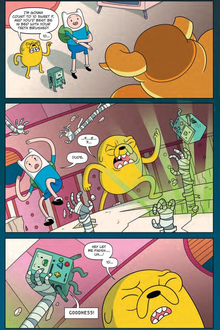 AdventureTime_v9_OGN_PRESS_8 ComicList Preview: ADVENTURE TIME VOLUME 9 BRAIN ROBBERS GN