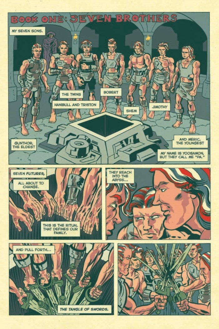 AmericanBarbarian_Complete-pr-3 ComicList Preview: AMERICAN BARBARIAN THE COMPLETE SERIES TP