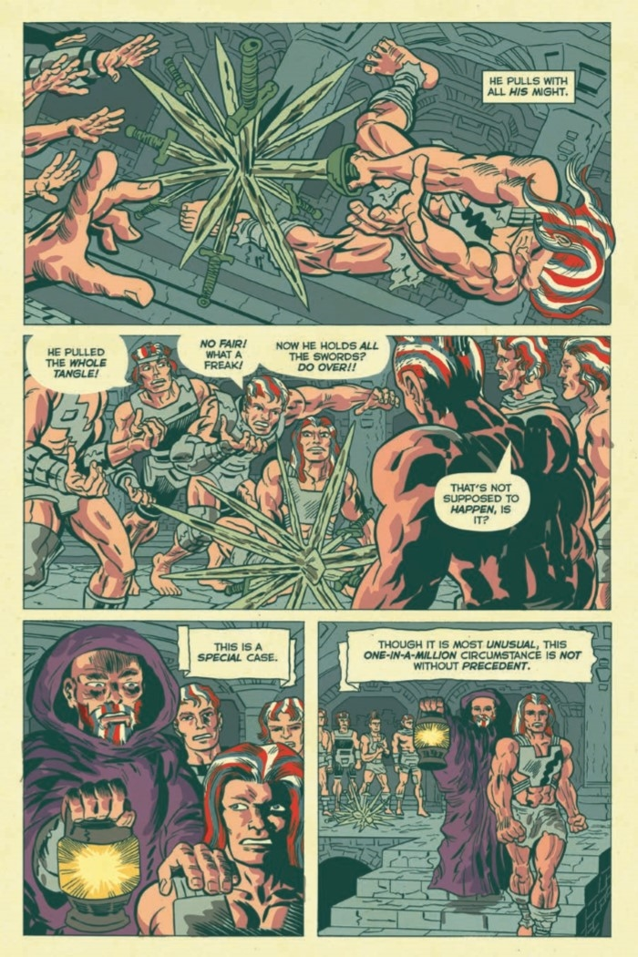 AmericanBarbarian_Complete-pr-6 ComicList Preview: AMERICAN BARBARIAN THE COMPLETE SERIES TP