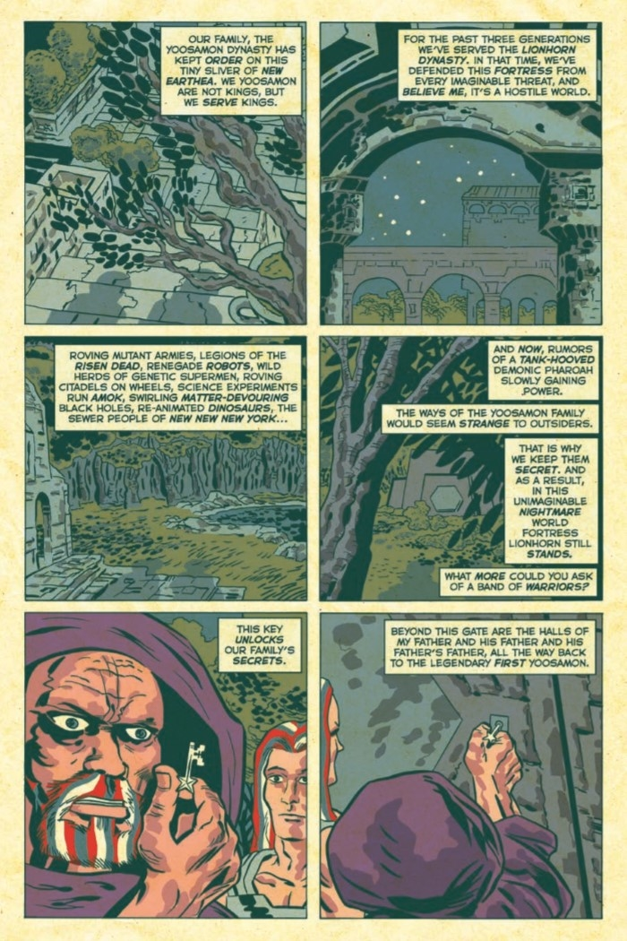 AmericanBarbarian_Complete-pr-7 ComicList Preview: AMERICAN BARBARIAN THE COMPLETE SERIES TP