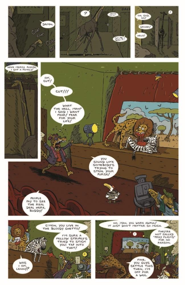AnimalNoir_02-pr-5 ComicList Preview: ANIMAL NOIR #2
