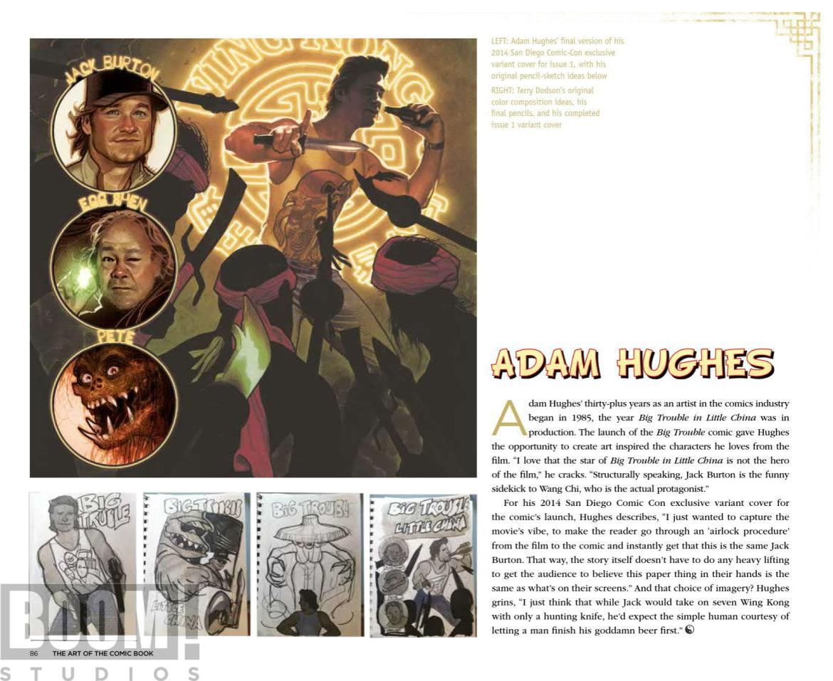 ArtOfBigTroubleInLittleChina_HC_PRESS_21 ComicList Preview: THE OFFICIAL ART OF BIG TROUBLE IN LITTLE CHINA HC