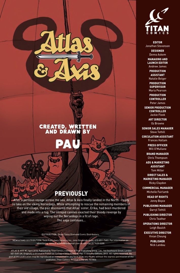 Atlas&Axis3_Credits ComicList Previews: ATLAS AND AXIS #3