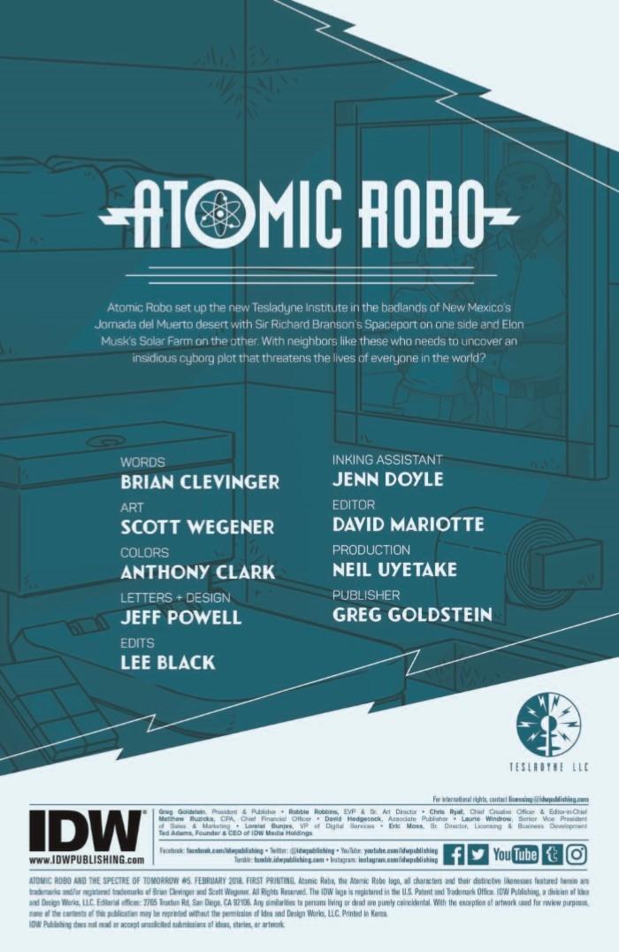 AtomicRobo_Spectre_05-pr-2 ComicList Previews: ATOMIC ROBO AND THE SPECTRE OF TOMORROW #5