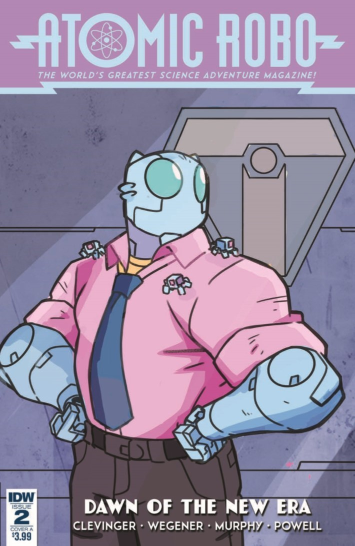 Atomic_Robo_Dawn_New_Era_02-pr-1 ComicList Previews: ATOMIC ROBO AND THE DAWN OF A NEW ERA #2