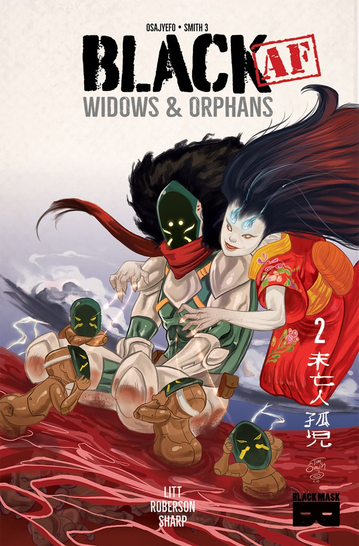 BLACKAFWIDOWS_2_1 ComicList Previews: BLACK AF WIDOWS AND ORPHANS #2
