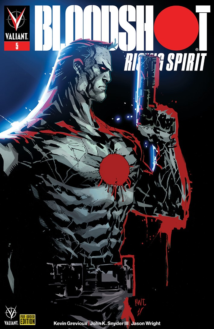BRS5_COVER_PREORDER ComicList Previews: BLOODSHOT RISING SPIRIT #5