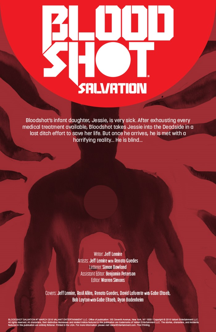 BSS_007_001 ComicList Previews: BLOODSHOT SALVATION #7