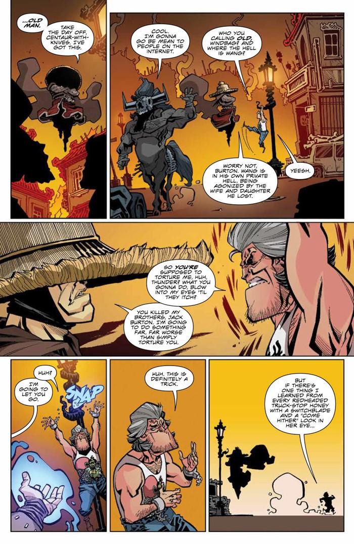 BTLC_OMJ_006_PRESS_4 ComicList Previews: BIG TROUBLE IN LITTLE CHINA OLD MAN JACK #6