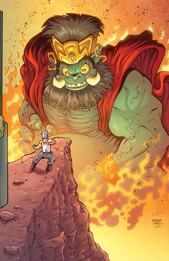 BTLC_OMJ_008_C_Connecting ComicList Previews: BIG TROUBLE IN LITTLE CHINA OLD MAN JACK #8