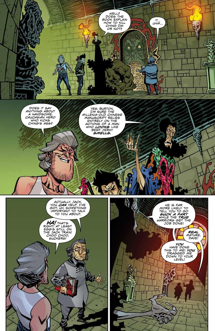 BTLC_OMJ_008_PRESS_3 ComicList Previews: BIG TROUBLE IN LITTLE CHINA OLD MAN JACK #8