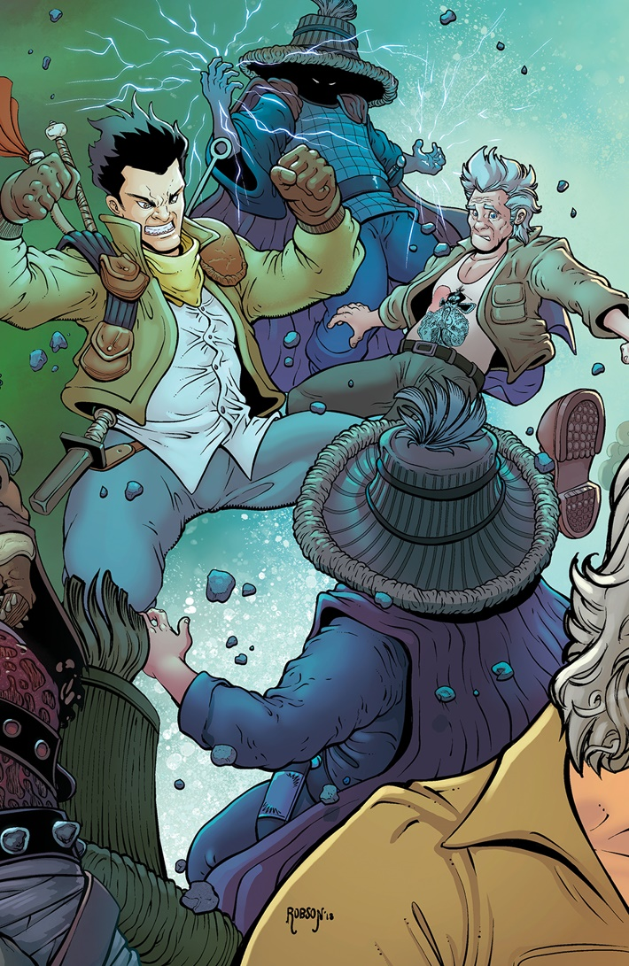 BTLC_OMJ_011_C_Connecting ComicList Previews: BIG TROUBLE IN LITTLE CHINA OLD MAN JACK #11