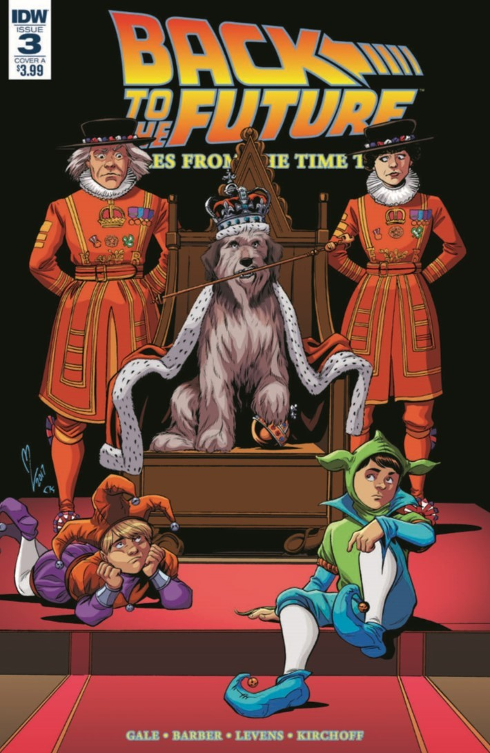 BTTF_TimeTrain_03-pr-1 ComicList Previews: BACK TO THE FUTURE TALES FROM THE TIME TRAIN #3