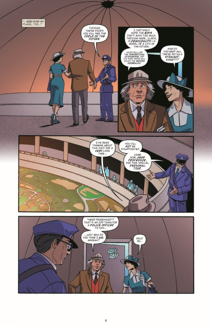 BTTF_TimeTrain_03-pr-5 ComicList Previews: BACK TO THE FUTURE TALES FROM THE TIME TRAIN #3