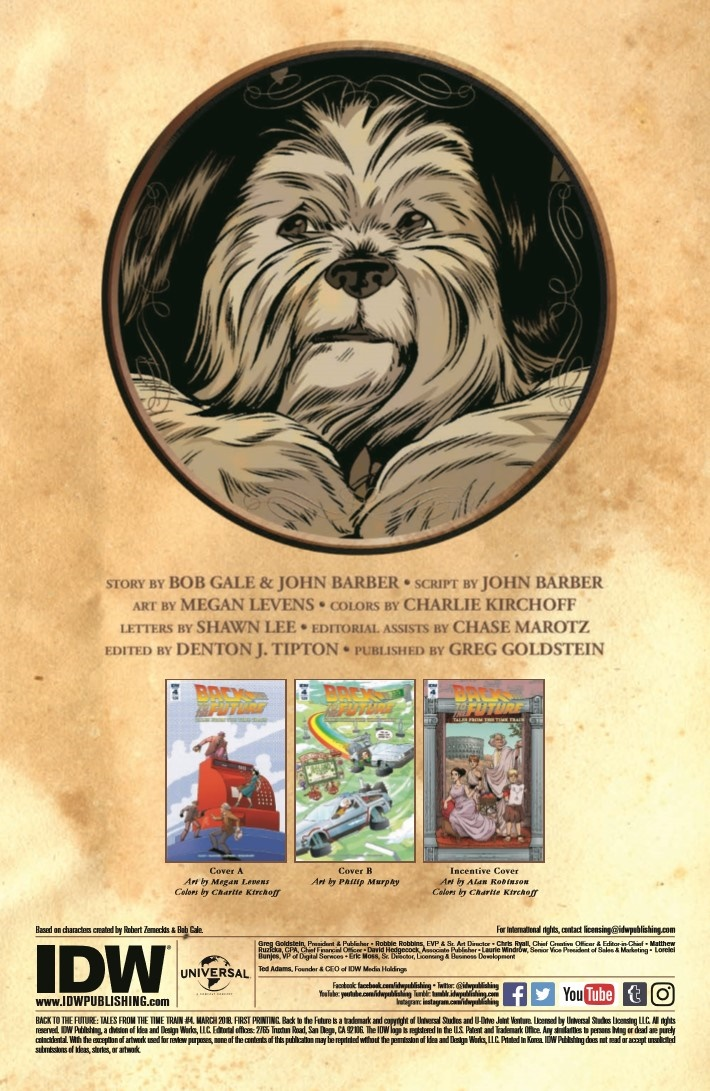 BTTF_TimeTrain_04-pr-2 ComicList Previews: BACK TO THE FUTURE TALES FROM THE TIME TRAIN #4