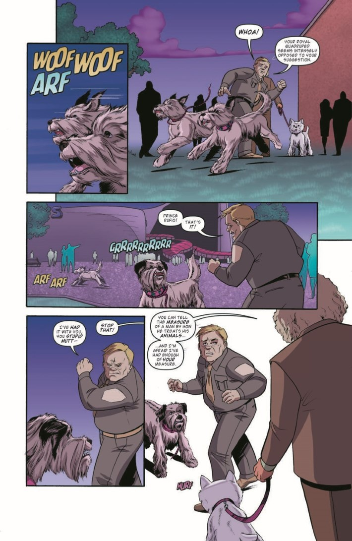 BackToTheFuture_Time_Train_06-pr-6 ComicList Previews: BACK TO THE FUTURE TALES FROM THE TIME TRAIN #6
