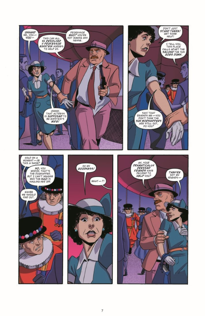 BackToTheFuture_Time_Train_06-pr-7 ComicList Previews: BACK TO THE FUTURE TALES FROM THE TIME TRAIN #6