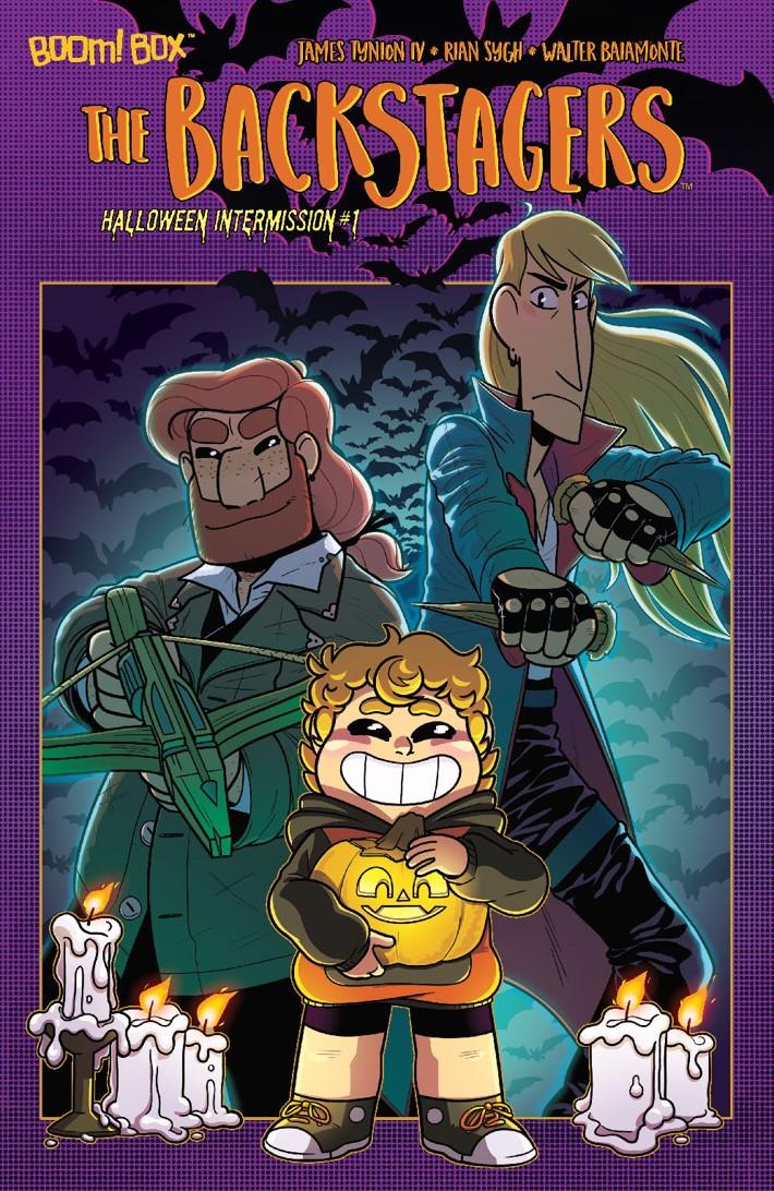 Backstagers_HalloweenIntermission2018_A_Main ComicList Previews: BACKSTAGERS HALLOWEEN INTERMISSION #1