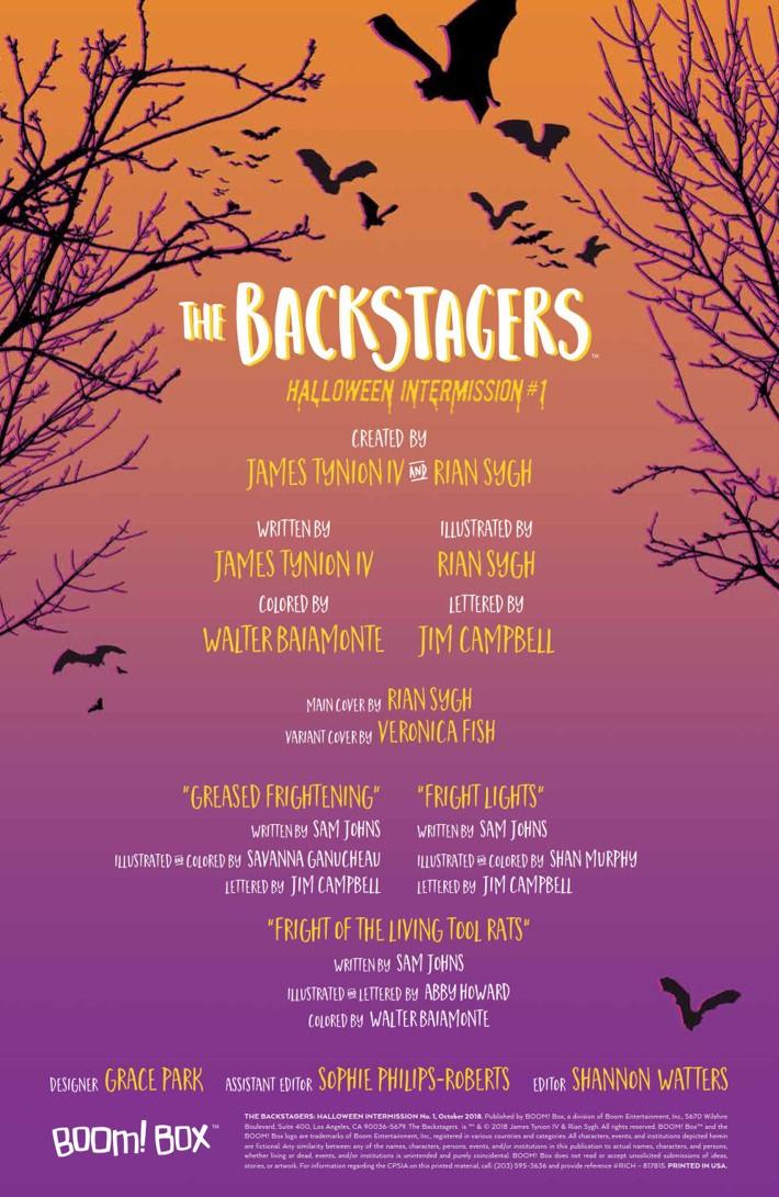 Backstagers_HalloweenIntermission2018_PRESS_2 ComicList Previews: BACKSTAGERS HALLOWEEN INTERMISSION #1