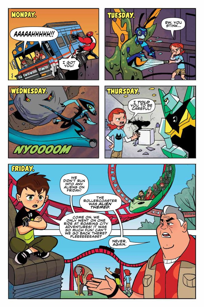 Ben10_TruthOutThere_v1_OGN_PRESS_14 ComicList Previews: BEN 10 THE TRUTH IS OUT THERE GN