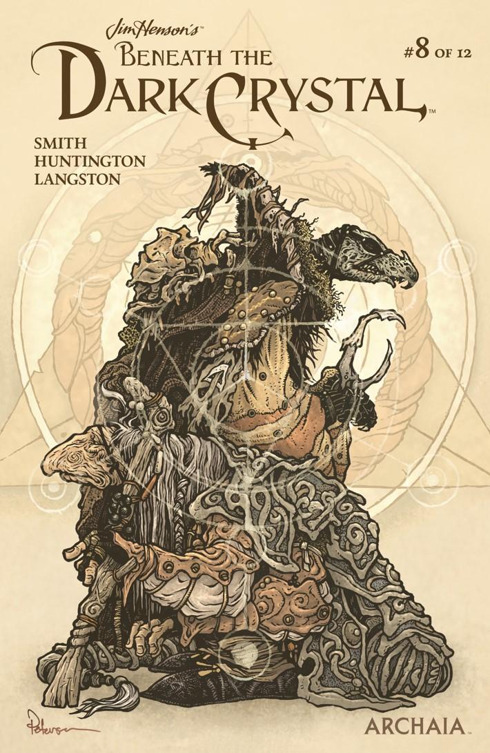 BeneathDarkCrystal_008_Cover_B_Preorder ComicList Previews: JIM HENSON'S BENEATH THE DARK CRYSTAL #8