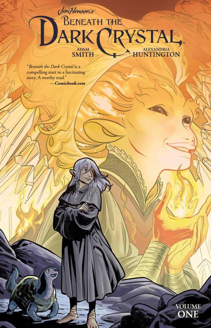 BeneathDarkCrystal_v1_HC_PRESS_1 ComicList Previews: JIM HENSON'S BENEATH THE DARK CRYSTAL VOLUME 1 HC