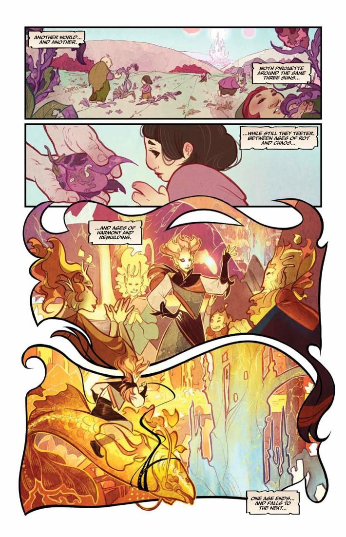 BeneathDarkCrystal_v1_HC_PRESS_12 ComicList Previews: JIM HENSON'S BENEATH THE DARK CRYSTAL VOLUME 1 HC