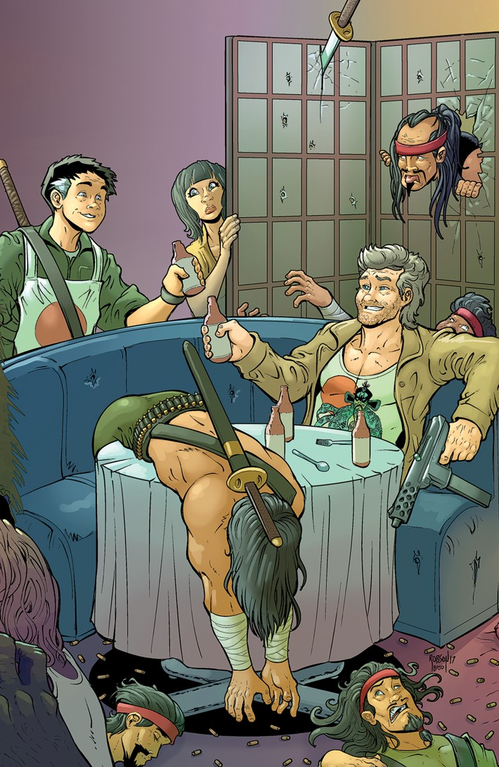 BigTrouble_007_C_Connecting ComicList Previews: BIG TROUBLE IN LITTLE CHINA OLD MAN JACK #7