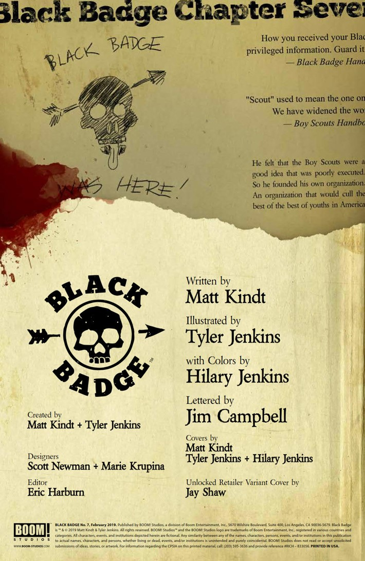 BlackBadge_007_PRESS_2 ComicList Previews: BLACK BADGE #7