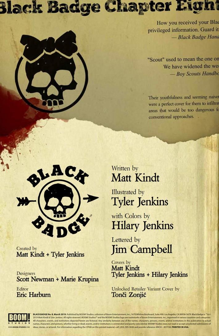 BlackBadge_008_PRESS_2 ComicList Previews: BLACK BADGE #8