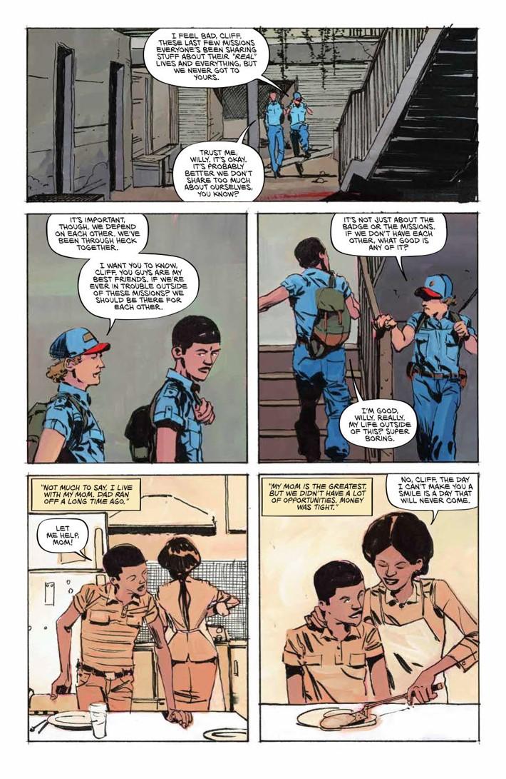 BlackBadge_008_PRESS_3 ComicList Previews: BLACK BADGE #8