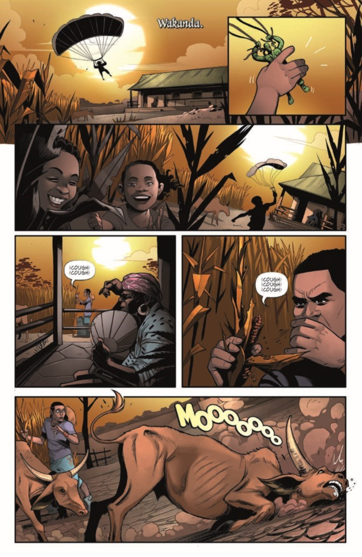 Black_Panther_01-pr-4 ComicList Previews: MARVEL ACTION BLACK PANTHER #1