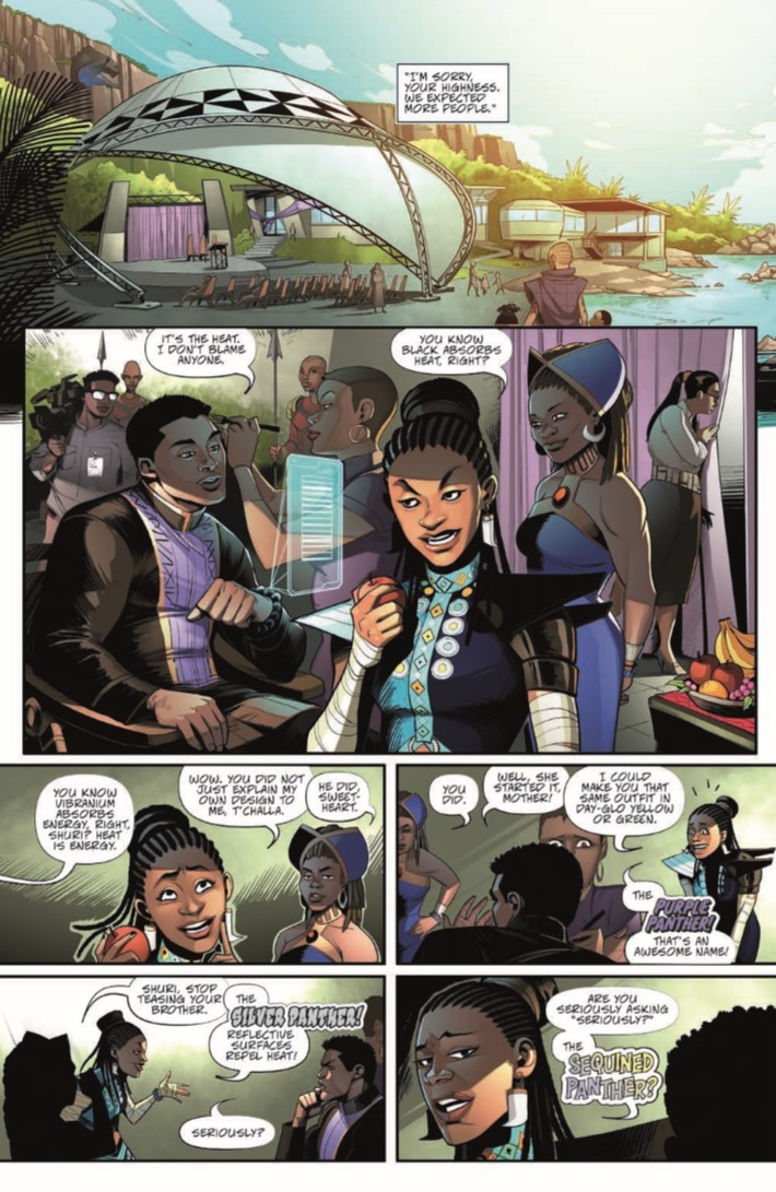 Black_Panther_01-pr-6 ComicList Previews: MARVEL ACTION BLACK PANTHER #1