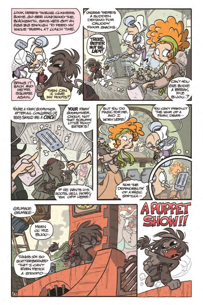 BodieTroll_OGN_PRESS_17 ComicList Previews: BODIE TROLL GN