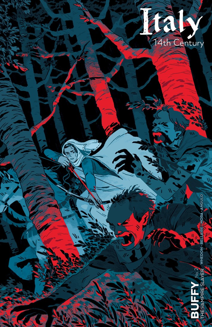 Buffy_002_C_Chosen ComicList Previews: BUFFY THE VAMPIRE SLAYER #2