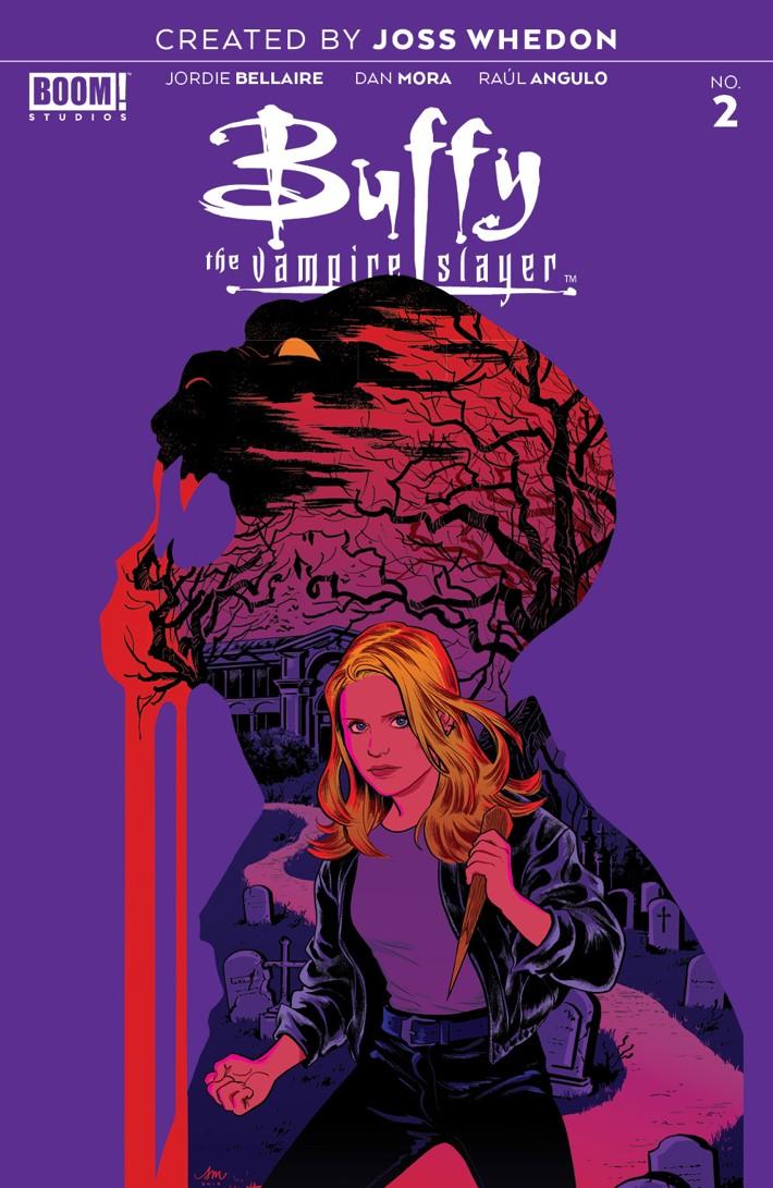 Buffy_002_E_Variant ComicList Previews: BUFFY THE VAMPIRE SLAYER #2