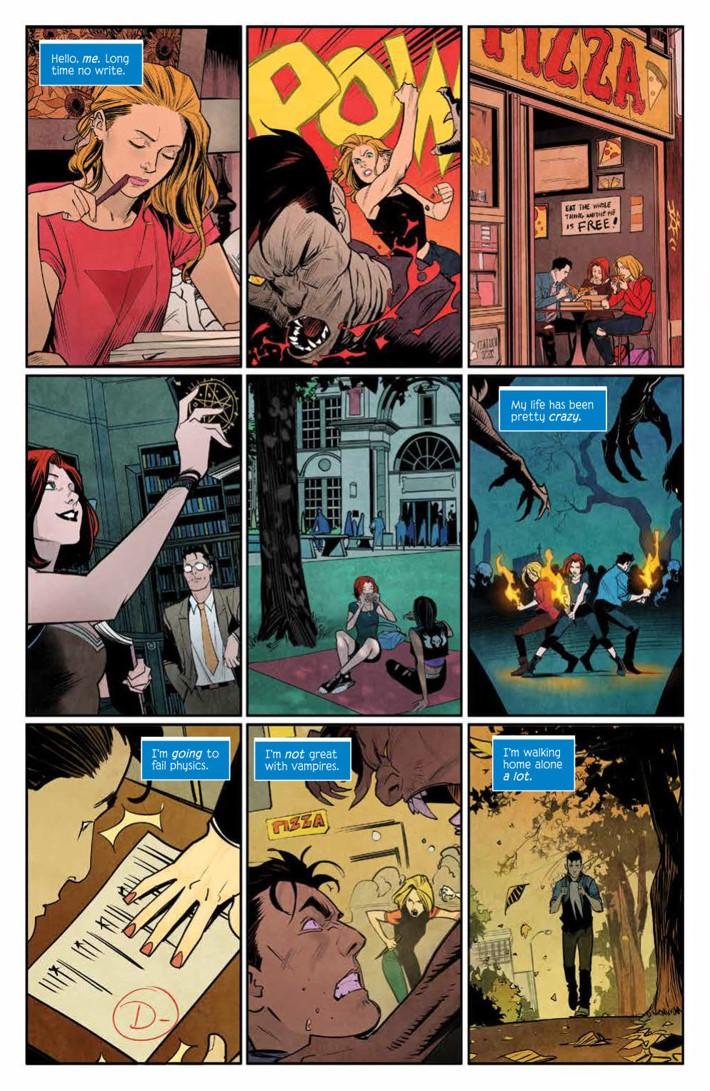 Buffy_004_PRESS_3 ComicList Previews: BUFFY THE VAMPIRE SLAYER #4