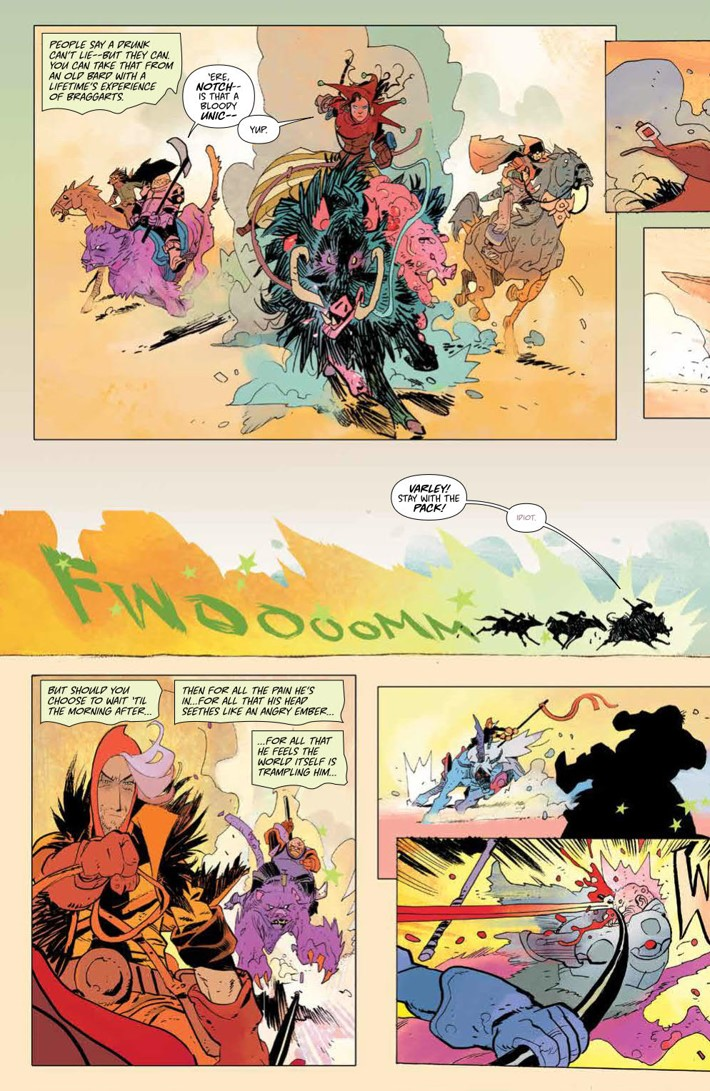 CODA_v1_DiscoverNow_SC_PRESS_13 ComicList Previews: CODA VOLUME 1 TP (DISCOVER NOW EDITION)