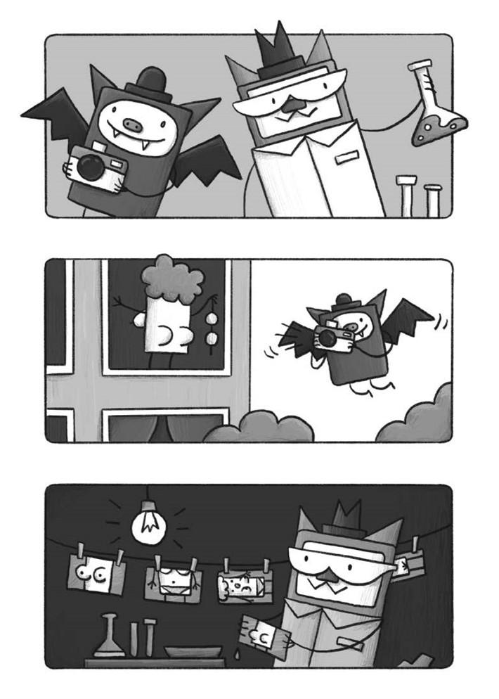 CatnBat-pr-4 ComicList Previews: CAT 'N' BAT TP
