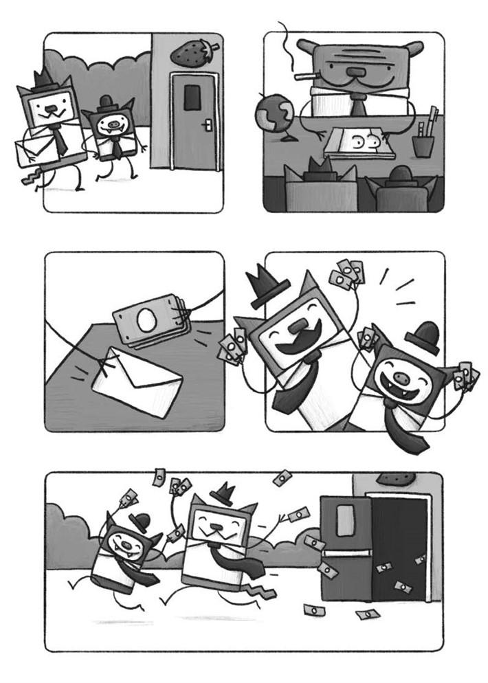 CatnBat-pr-5 ComicList Previews: CAT 'N' BAT TP