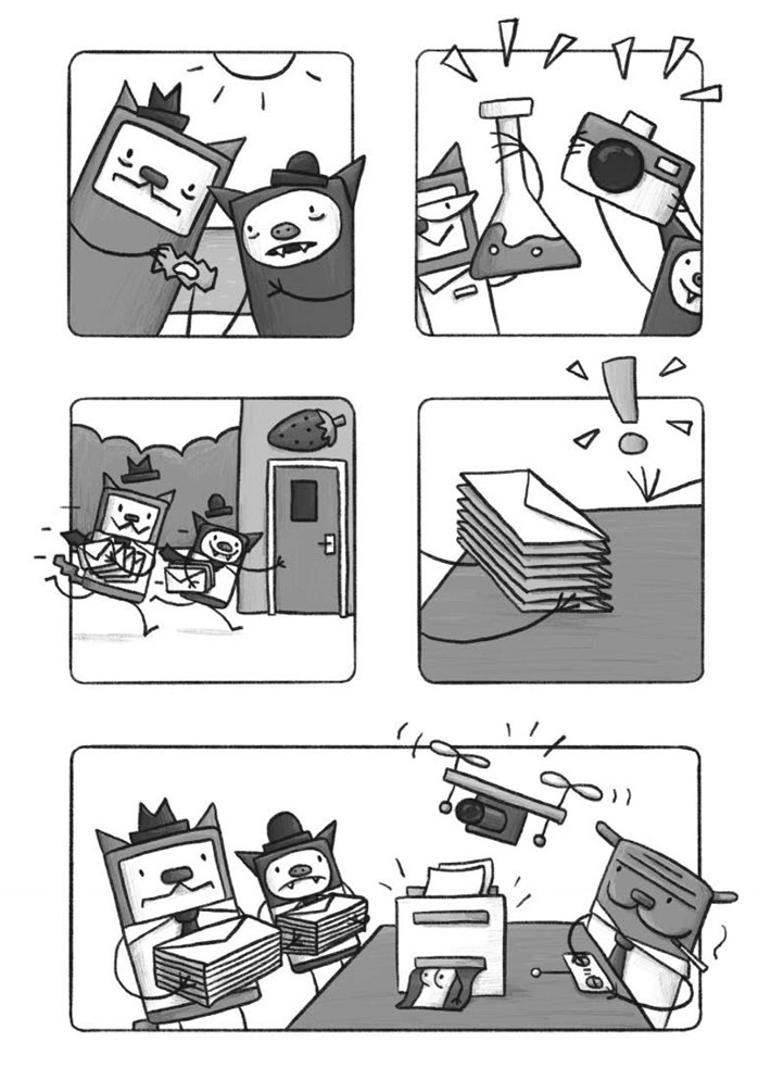 CatnBat-pr-7 ComicList Previews: CAT 'N' BAT TP