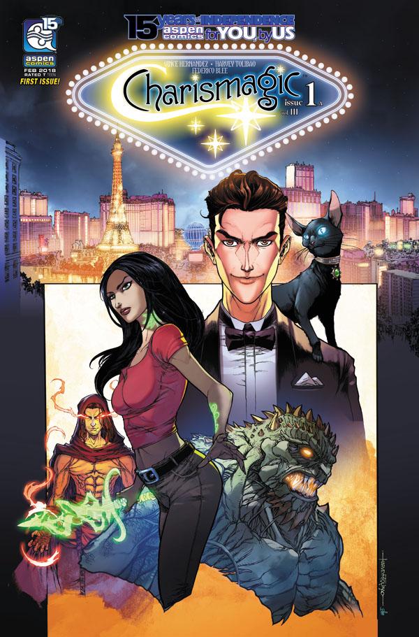 Charismagic-v3-01a-Tolibao_1 ComicList Previews: CHARISMAGIC VOLUME 3 #1