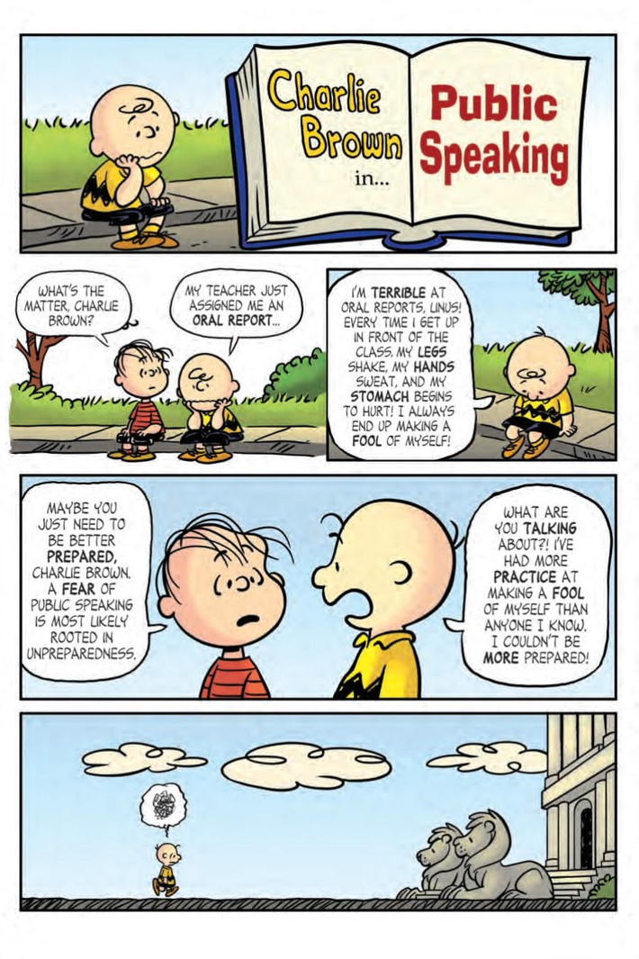CharlieBrown_HC_PRESS_11 ComicList Previews: CHARLIE BROWN A PEANUTS COLLECTION HC