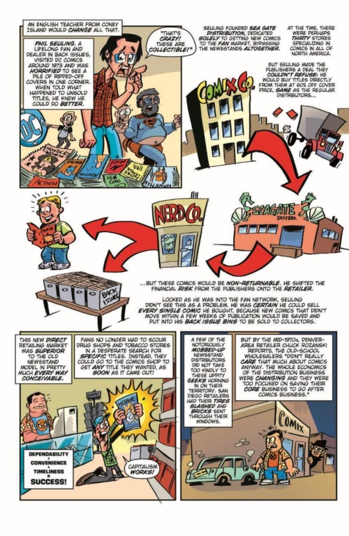 ComicBookHistory_v2_04-pr-5 ComicList Previews: COMIC BOOK HISTORY OF COMICS COMICS FOR ALL #4