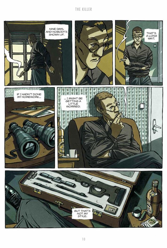 CompleteKiller_SC_PRESS_12 ComicList Previews: COMPLETE THE KILLER TP