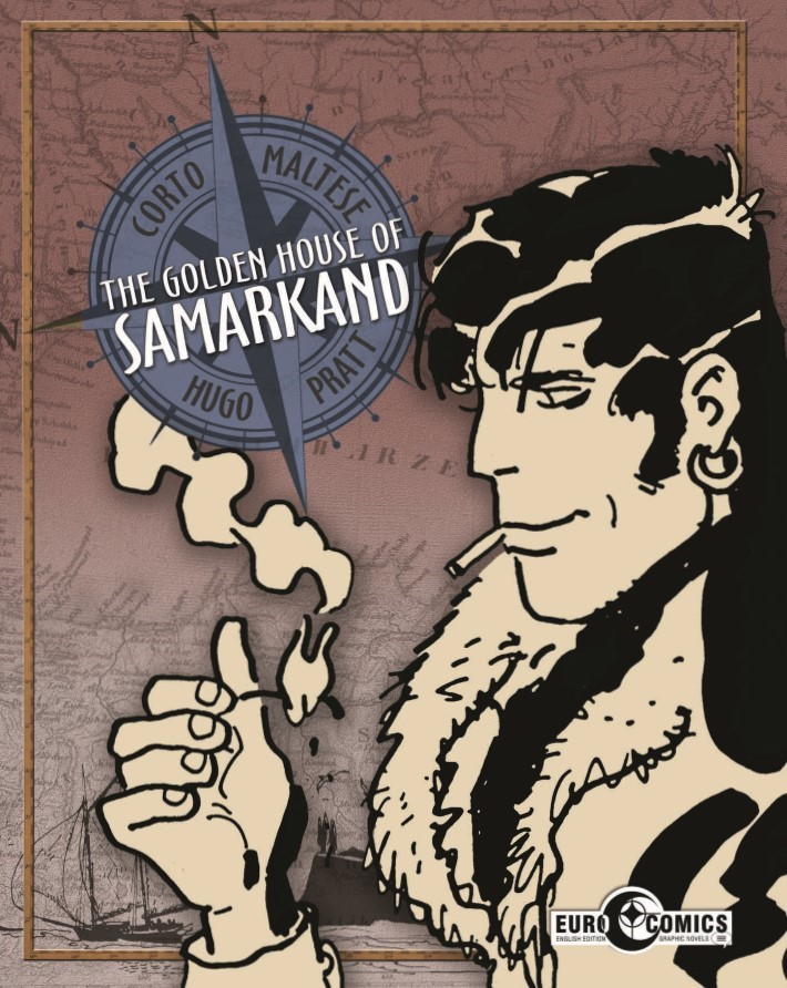 CortoMaltese_v9_Samarkand-pr-1 ComicList Previews: CORTO MALTESE THE GOLDEN HOUSE OF SAMARKAND GN