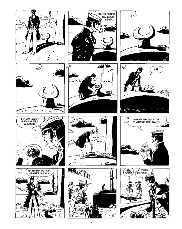 CortoMaltese_v9_Samarkand-pr-5 ComicList Previews: CORTO MALTESE THE GOLDEN HOUSE OF SAMARKAND GN